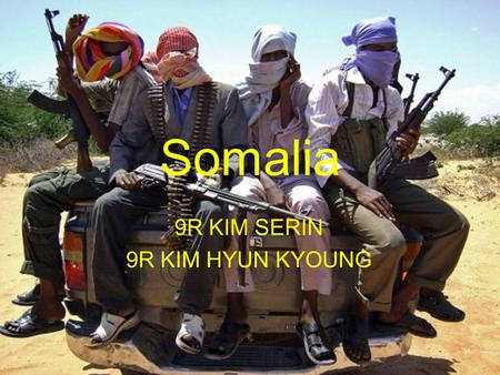 Somalia 9R KIM SERIN 9R KIM HYUN KYOUNG. The national flag of Somalia was designed by Mohammed Awale Liban. Its blue in color with white color star in.