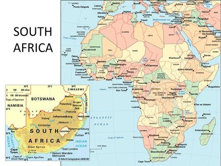 SOUTH AFRICA. Did you know? DID YOU KNOW THAT... South Africa is 5 times the size of Japan and three times the size of Texas. South Africa's Population.