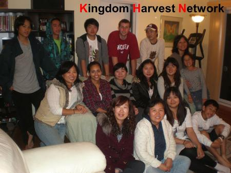 Kingdom Harvest Network The harvest is plentiful but the workers are few. Ask the Lord of the harvest, therefore, to send out workers into his harvest.