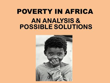 overcoming poverty potential solutions essay Here are 10 extremely effective solutions to poverty  raising the minimum  wages could potentially increase the health and wellbeing of.