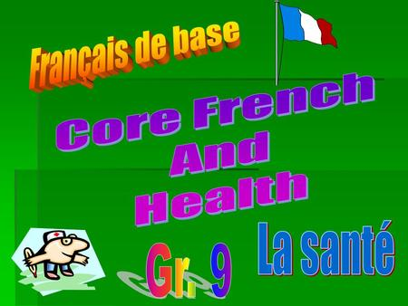 Here is what you will need for French and Health! (2) Binders 1 divided in 2 parts (one for French and one for Health) The other will be a portfolio project.