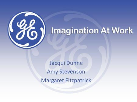 Jacqui Dunne Amy Stevenson Margaret Fitzpatrick Imagination At Work.