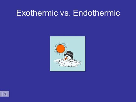 Exothermic vs. Endothermic. Decomposition of Nitrogen Triiodide.