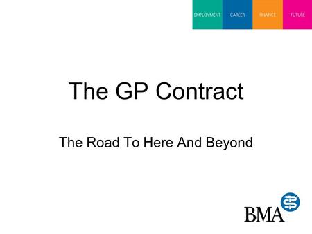 The GP Contract The Road To Here And Beyond. Why the GMS contract had to change Red Book was 'John Wayne' contract without boundaries OOH responsibility.