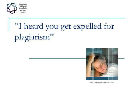 """I heard you get expelled for plagiarism"" Student in Starbucks, Fremont Seattle (Wonderlane 2005)"