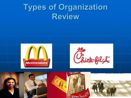 Types of Organization Review