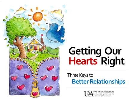 Getting Our Three Keys to Better Relationships Hearts Right.