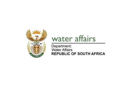 1. PUBLIC PARTICIPATION WATER USER ASSOCIATION BACKGROUND The Constitution of the Republic of South Africa requires the institutions of the state to.