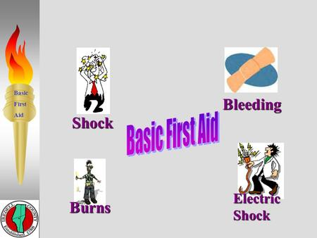 Basic First Aid Burns Shock Bleeding Electric Shock 14.