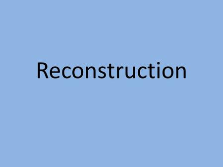 north or south who killed reconstruction Return to civil war & reconstruction 1861-1877: individual items  july 21:  georgian francis s bartow was killed the first battle of manassas (bull run)   on a good will trip, attempting to mend north-south relations after reconstruction.