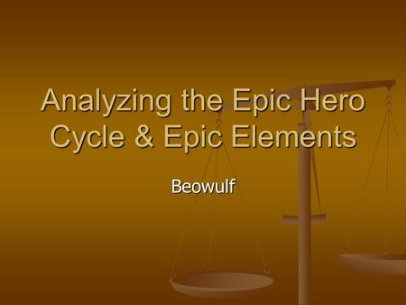 beowulf the selfless hero essay
