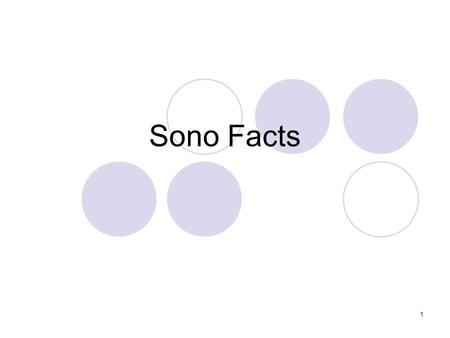 "1 Sono Facts. 2 What makes up the ""Sea Gull"" sign?"