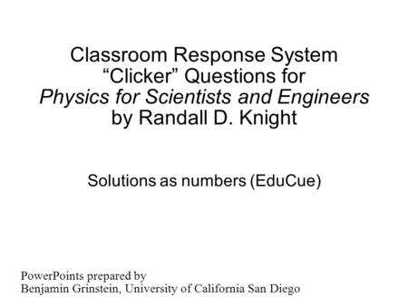 Solutions as numbers (EduCue)