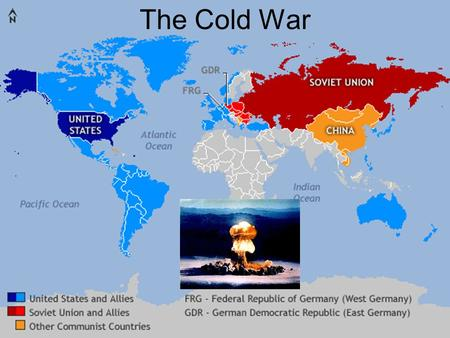 The Cold War. What was the Cold War? The Cold War (1945 – 1990) was a period of conflict and tension between the US and USSR that began after World War.