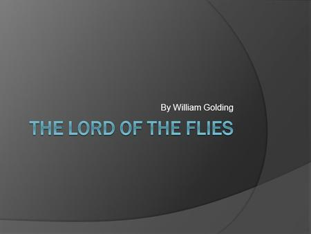 lord of the flies social allegory essay