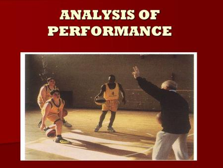 ANALYSIS OF PERFORMANCE. SPORTSBANK- ANALYSIS AND EVALUATION.