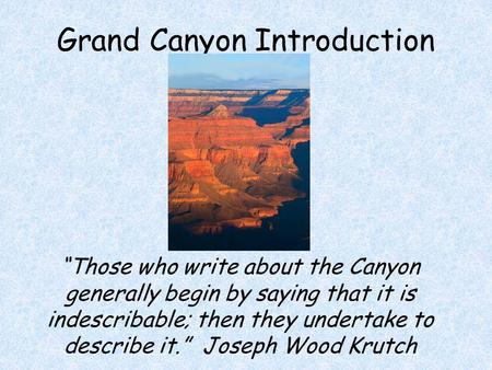 Very good introduction to the Grand... - Rim Trail