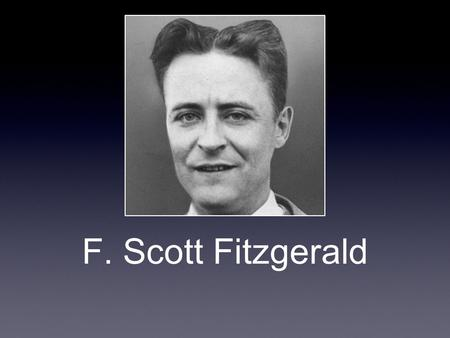 F. Scott Fitzgerald. When and Where was He Born? He was born in St. Paul, Minnesota on September 24th, 1896. His dad, Edward was from Maryland and his.