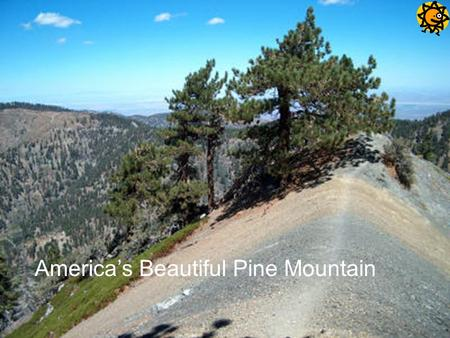 America's Beautiful Pine Mountain. LOCATION HARRIS COUNTY BETWEEN BLUE RIDGE MOUNTAIN AND COSTAL PLAINS.