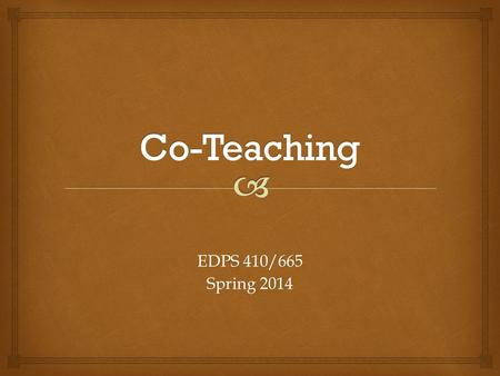 EDPS 410/665 Spring 2014.  1.Document current level of performance 1.Develop student IEP objectives 1.Determine how the objective or related set of objectives.
