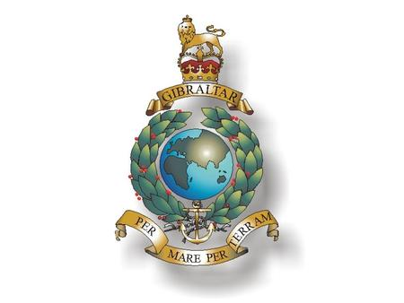 """GIBRALTAR"" THE FIRST AND ONLY BATTLE HONOUR WORN ON THE CORPS CREST (after the siege of Gibraltar in 1704)"