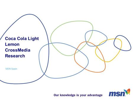 Coca Cola Light Lemon CrossMedia Research MSN Spain.
