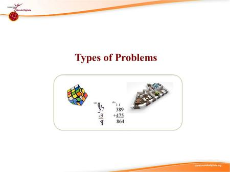 Types of Problems. Didactic Suggestions (1) (Ia) Try to start by connecting with the current state of knowledge and experience of the individual in the.