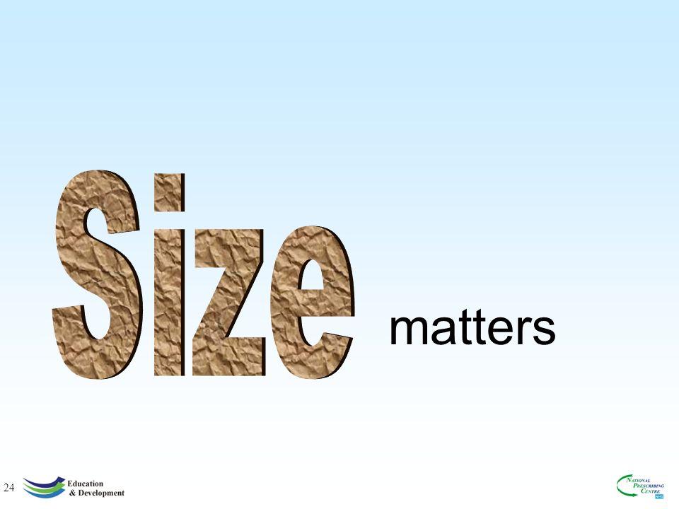 24 matters