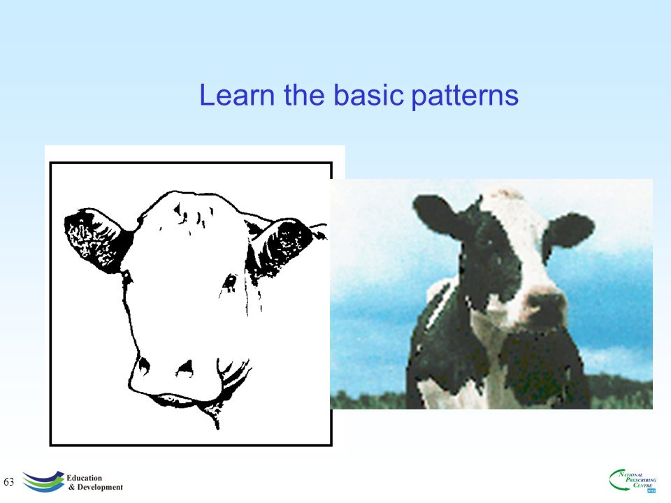 63 Learn the basic patterns