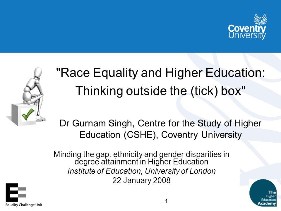 2 Higher Education Stats Agency (HESA) Categories 1.