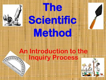 An Introduction to the Inquiry Process