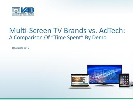 Multi-Screen TV Brands vs. AdTech: