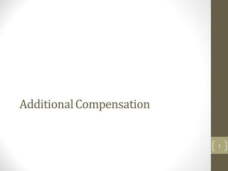 Additional Compensation 1. Office of Academic Personnel Stephanie Intercampus transfers,