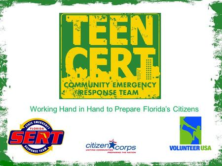 Working Hand in Hand to Prepare Florida's Citizens.