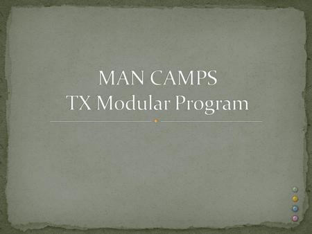 "There are no exemptions under the TX Industrialized Housing and Buildings (IHB) law and rules for ""MAN CAMPS"" otherwise known as transient housing Unless."