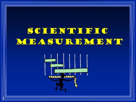 1 Scientific measurement measurement 2 Types of measurement l Quantitative- use numbers to describe l Qualitative- use description without numbers l.