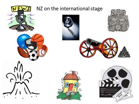 NZ on the international stage. Culture Same word family as Culture Different word for Culture Similar word Other ideas that relate to Culture.