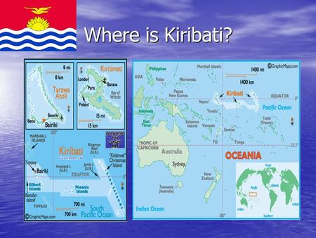 Where is Kiribati?. TE TOA MATOA Kiribati Association of People with Disabilities 1999.