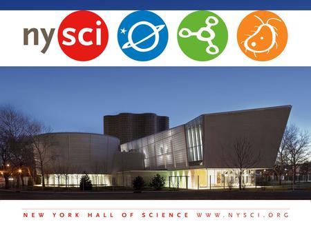 The New York Hall of Science was established in 1964 as part of the World's Fair in Flushing Meadows Corona Park.