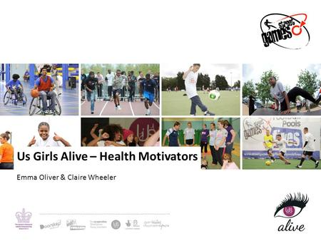 Us Girls Alive – Health Motivators Emma Oliver & Claire Wheeler.