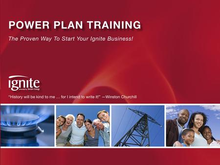 Power Plan Training Phase I- Become Qualified (to get paid)