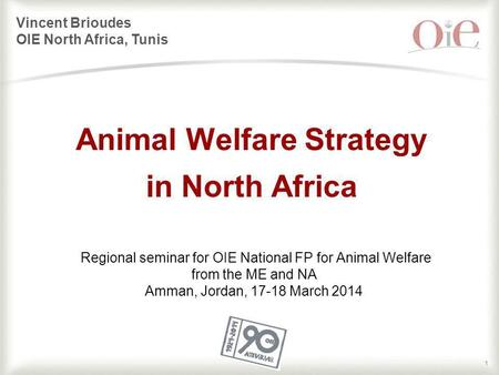 Animal Welfare Strategy in North Africa