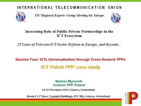 Agenda Introduction PPP in Poland – case study Agenda Introduction PPP in Poland – case study.