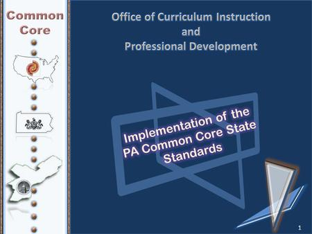1. By the end of the meeting, participants will: Engage in professional learning opportunities to increase understanding of the PA Common Core Standards.