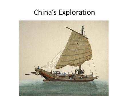 China's Exploration. Voyages of Zheng He Yongle pushed the idea of China being known around the world He wanted to win tribute from other countries Yongle.