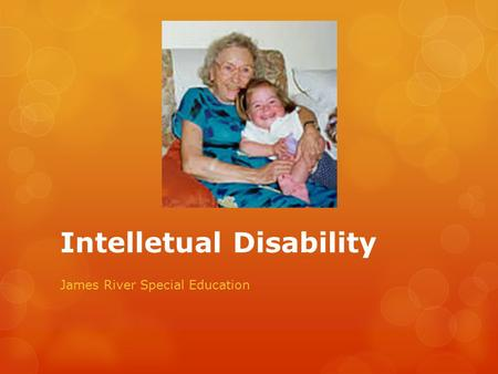 Intelletual Disability James River Special Education.