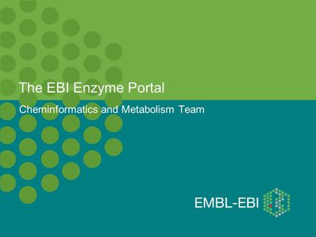 The EBI Enzyme Portal Cheminformatics and Metabolism Team.