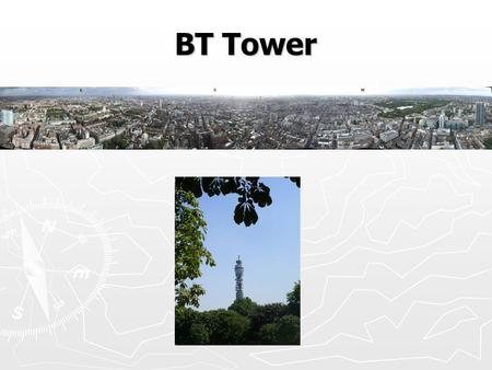 BT Tower. BT CPC Concentration time series BT CPC Flux time series.