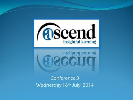 Conference 3 Wednesday 16 th July 2014. Croydon Quest Academy Gilbert Scott Primary Wolsey Infant School Lewisham Sedgehill Elfrida Primary Athelney Primary.