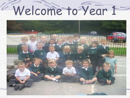 Welcome to Year 1. The Year 1 Team Mrs Faint –Mon/Tues/Weds Mrs Maclaurin-Weds/Thurs/Fri Mrs Jarvis-Mon-Friday.